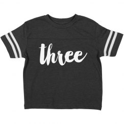 I'm Three Birthday Shirt