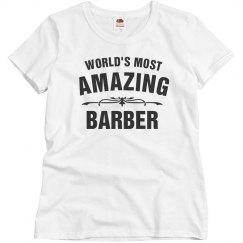 World's amazing Barber