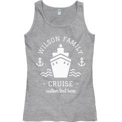 Custom Family Vacation Cruise Tanks
