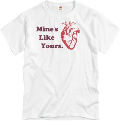 Men's Mine's Like Yours Tee
