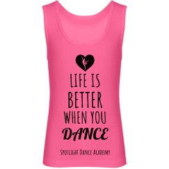 Life is Better Tank-Youth