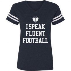 Football Girl Jersey Tee