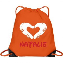 Small Custom Cheer Bag Backpack With Name
