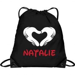 Small Custom Cheer Bag Backpack With Name