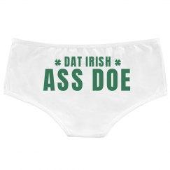 Dat Ass Doe Funny St Patricks