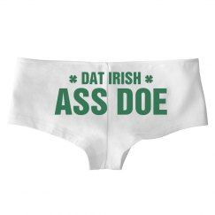 Dat Ass Doe Funny St Patricks