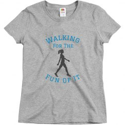 Walking For The Fun Of It