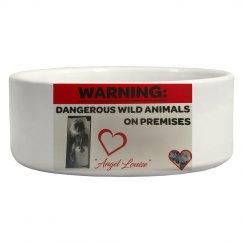 Dangerous Wild Animal Food Dish
