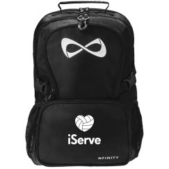 Trendy iServe Volleyball Black Nfinity Backpack