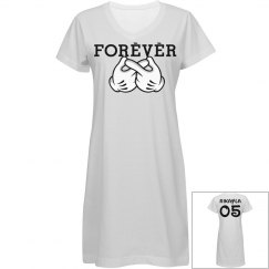 Forever Friends V-Neck Dress