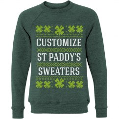 Custom Clover Ugly Sweater