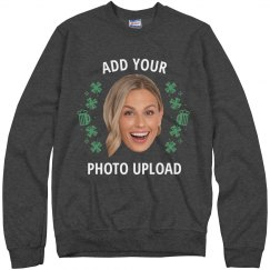 Add Your Photo Drinking Sweater