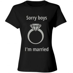 I'm married t shirt