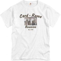 Card Rome Reunion