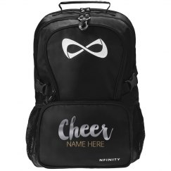 Metallic Custom Cheer Backpack