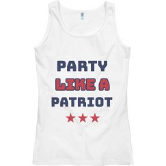 Fourth of July Party like a patriot
