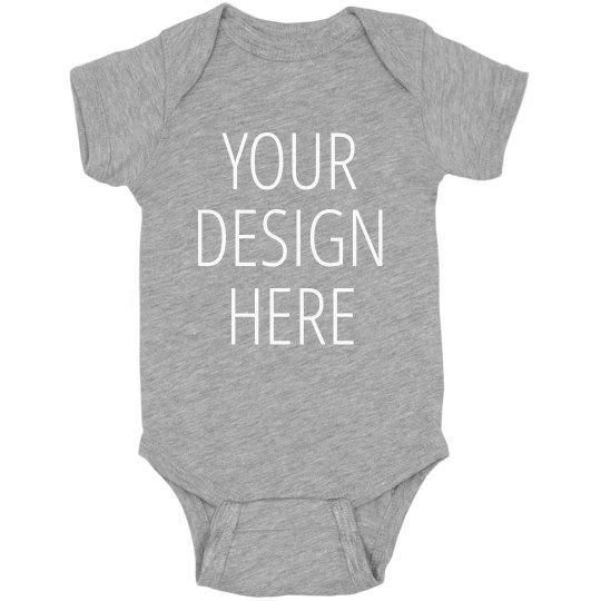 37616325f4c3 Custom Baby Onesie For Gifts Infant Fine Jersey Bodysuit