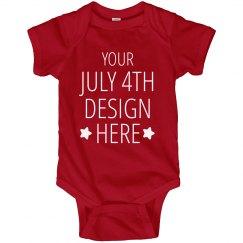 Custom 1st July 4th Holiday
