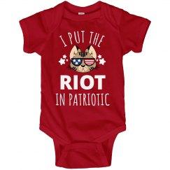 Kids July 4th Riot In Patriotic