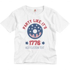 July 4th 1776 Kid's Party