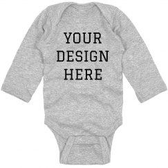 Baby's Custom Long-sleeve For Gifts