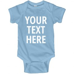 Custom Printed Infant One Piece