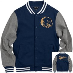 Oral Roberts golden eagles men's jacket.