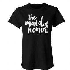Stylish I'm The Maid Of Honor