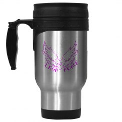 3D Lash Force Silver Mug