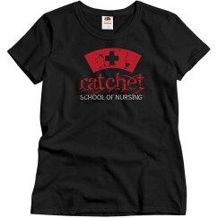 Nurse Ratchetts closet