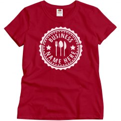 Small Business Custom Dining Tee