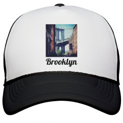 Brooklyn Bridge Hat-Jazzy Art