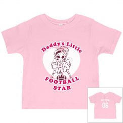 Daddy's Football Girl