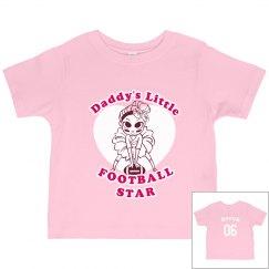 Daddy's Football Girl