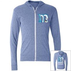 McManus Adult size light hoodie