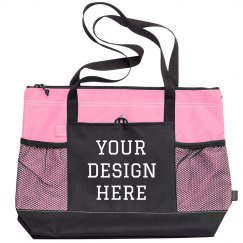 Design your Own Custom Zippered Tote Bag