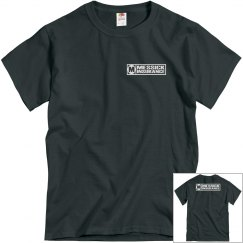 Messick Charcoal/front & back