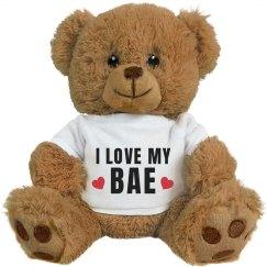 Love My Bae Valentines Day Bear