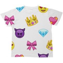 Emoji Princess Kids All-Over-Print
