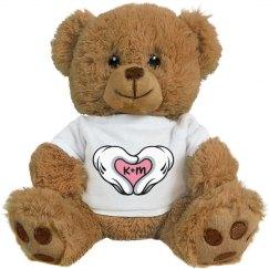 Heart Hands Love Bear