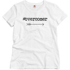 #overcomer Adult Tee