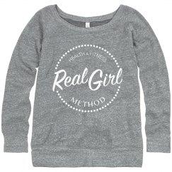 2018 Real Girl Sweatshirt