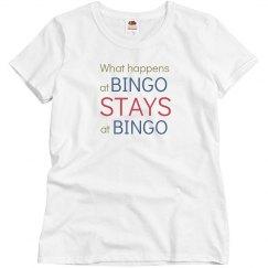 What happens at bingo