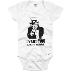 Uncle Sam Onesie