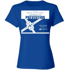 17th Annual Mid-Year Ladies T-Shirt- Royal Blue