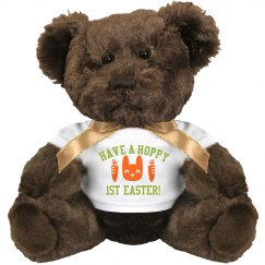 Hoppy 1st Easter Baby Gift Bear