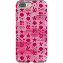 Nautical Mermaid Phone Case