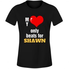 Heart beats for Shawn