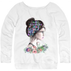 Sequels and Succulents - Ladies Pastel Sweatshirt