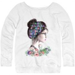 Sequels and Succulents - Ladies Pastel Sweatshirt